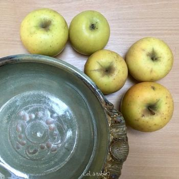 pommes et plat à gratin