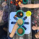Sucettes de fruits pour anniversaire d'enfants