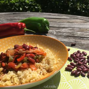 piperade aux haricots rouges