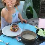 Trempettes et p'tites sauces à base de légumes secs pour les enfants