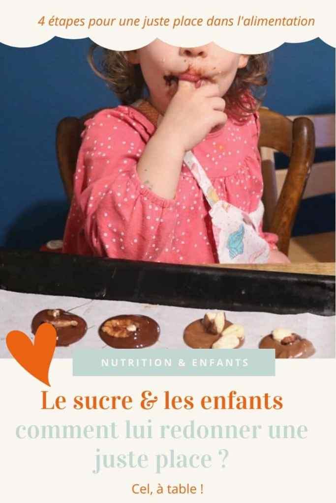 Le sucre et les enfants : comment lui redonner une juste place ?