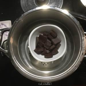 chocolat à faire fondre à la vapeur