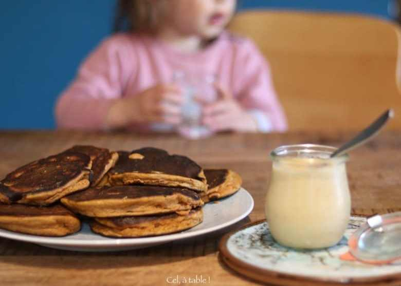 goûter pancake