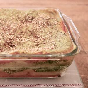 lasagnes blettes-tofu-tomate
