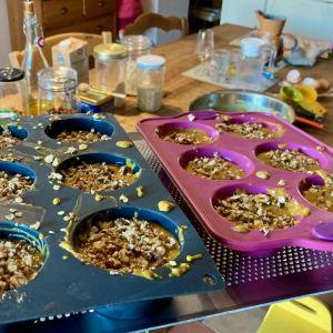 muffins avec crumble