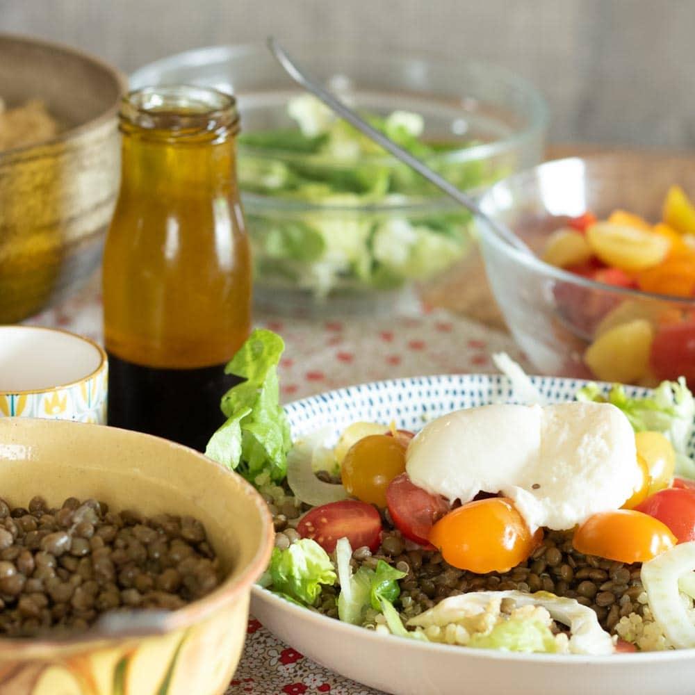 Salade à composer