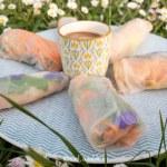 Cuisiner avec les enfants des rouleaux de printemps