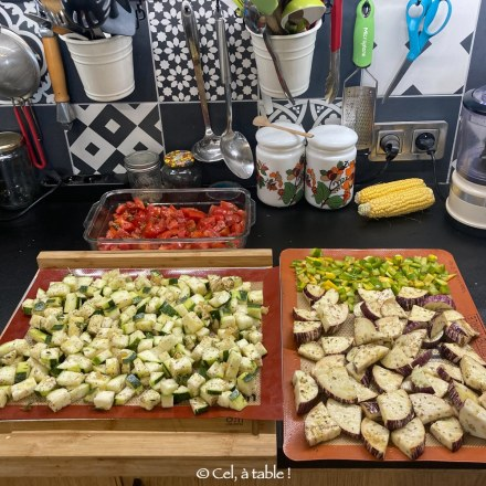 Cuire des légumes en grande quantité en mode batchcooking