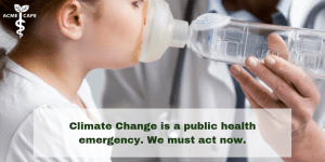 Call to Action on Climate Change and Health