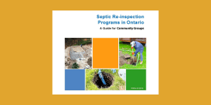 Septic Re-inspection Programs in Ontario