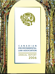 CELA Annual Report, 2006
