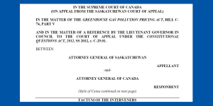 CELA Factum filed in the Supreme Court of Canada