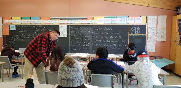 classroom attawapiskat