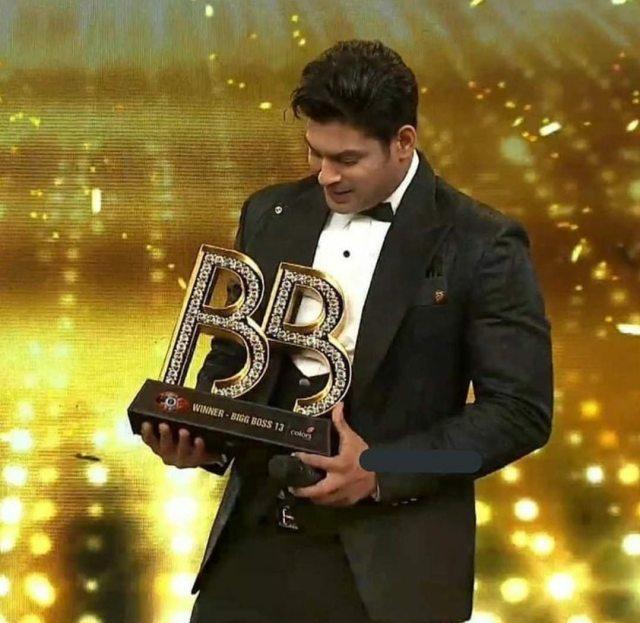 Siddharth Shukla BIGBoss 13 Winner