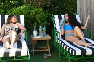 vanessa Hudgens blue bikini 7
