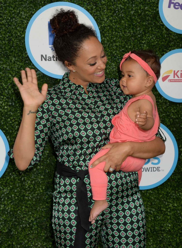 Tamera Mowry At The Safe Kids Day In Los Angeles Celeb Donut
