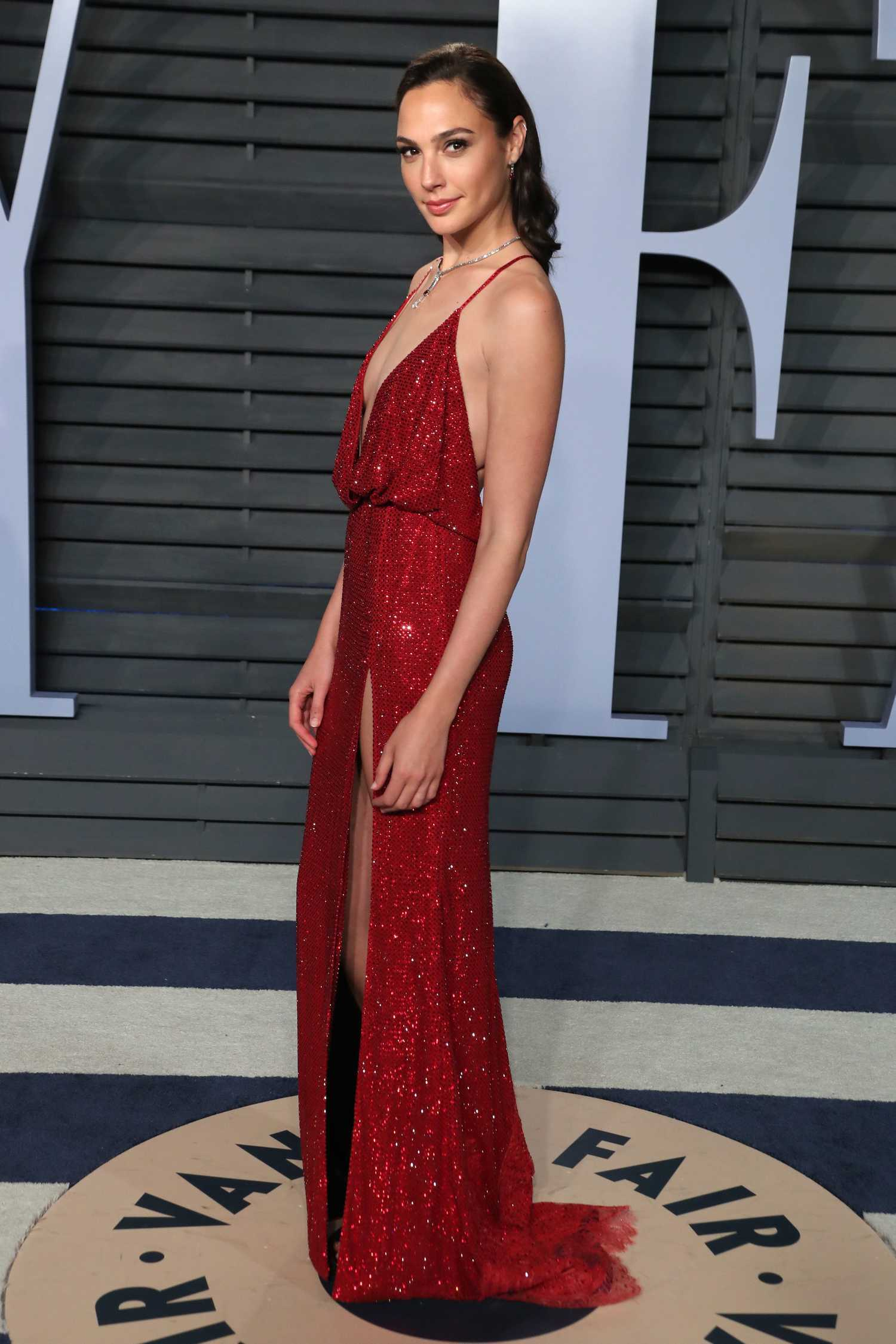 Gal Gadot At 2018 Vanity Fair Oscar Party In Beverly Hills