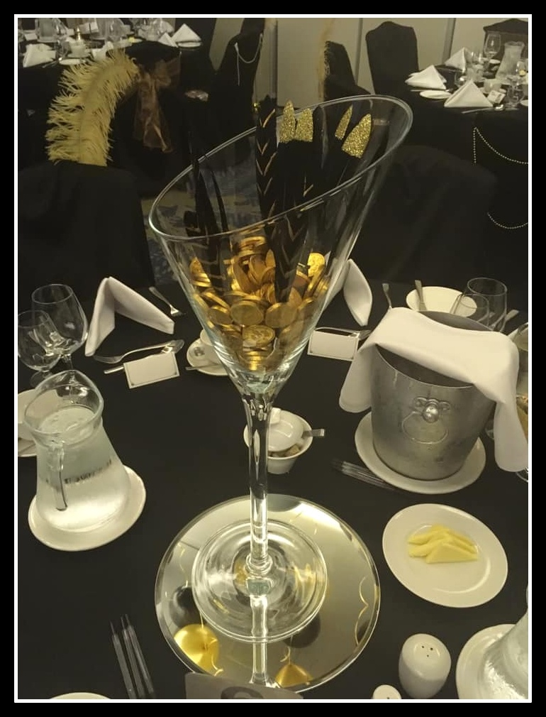 Table CentrePieces from the Event Squad