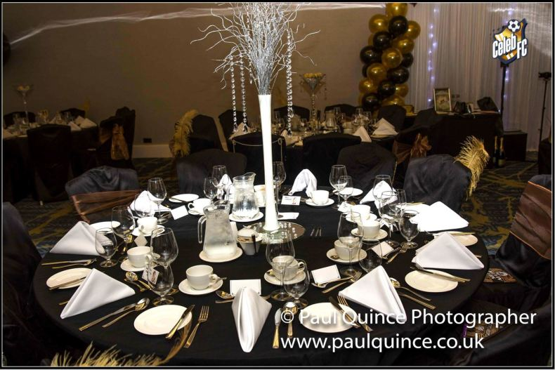 Table dressed by The Event Squad