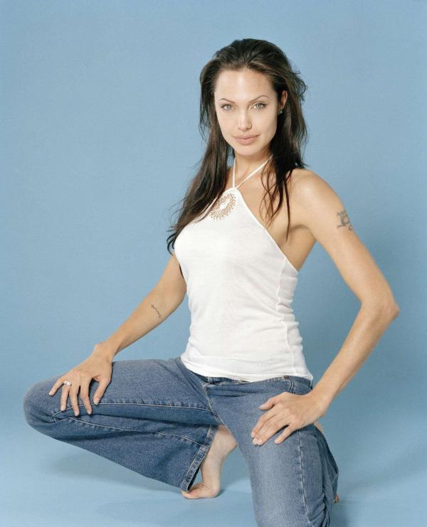 Angelina Jolie in Firooz Zahedi Photoshoot   Celebrity Feet