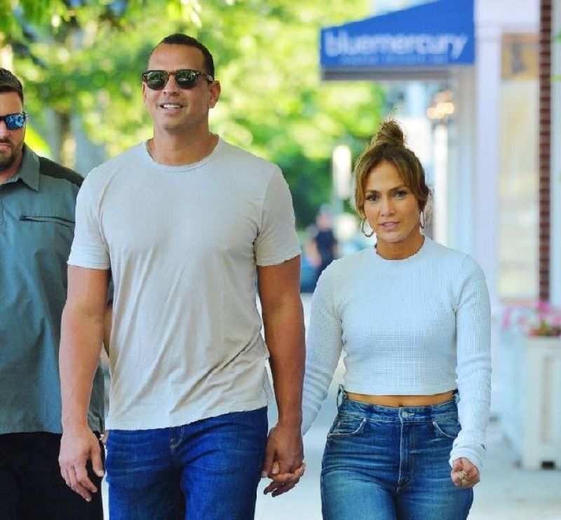 Jennifer Lopez and Alex Rodriquez