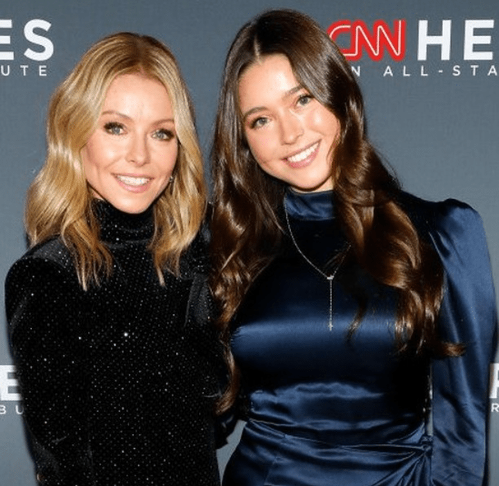 Lola Consuelos With Her Mother