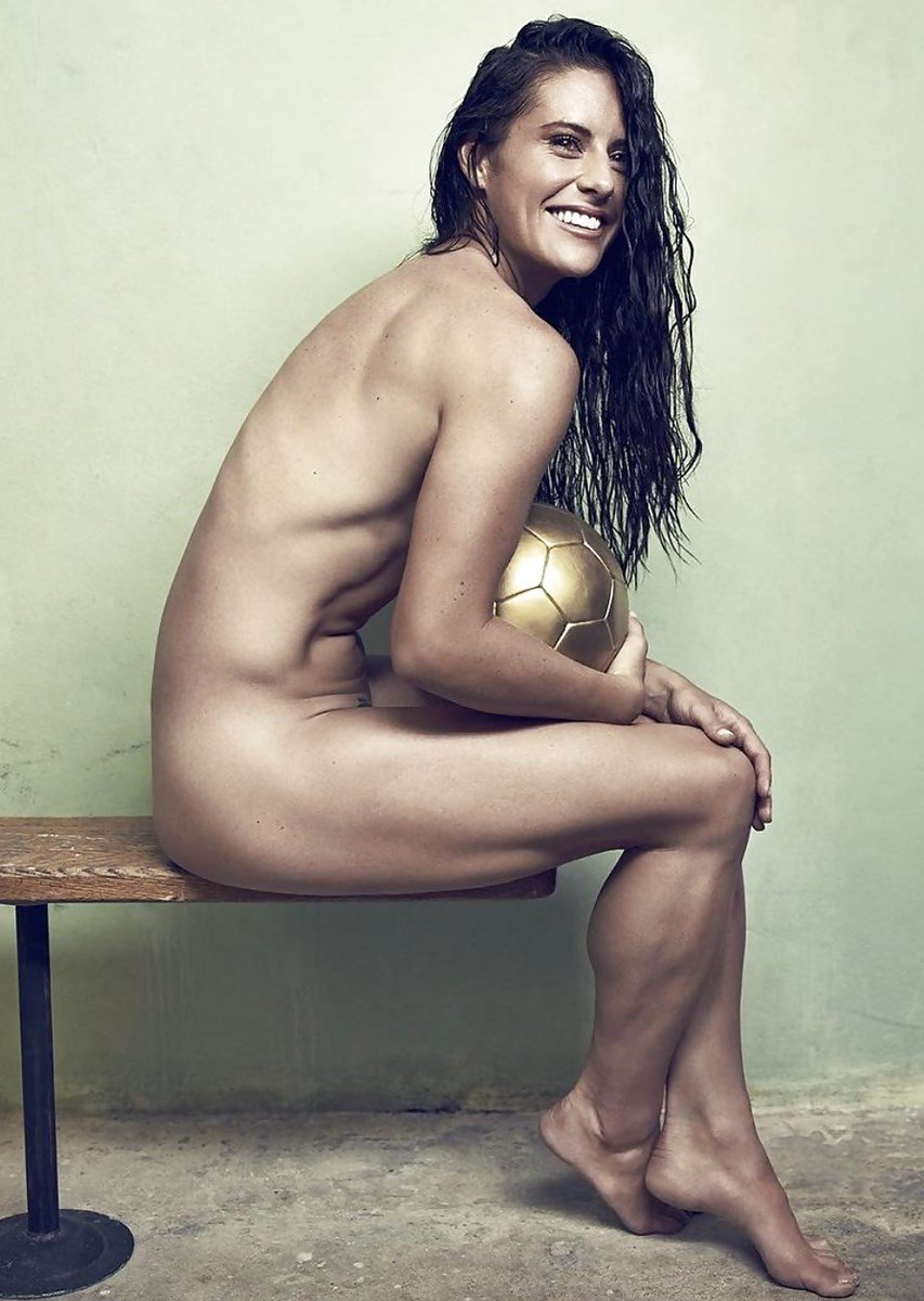 Ali Krieger Nude Pussy Outtake Photos