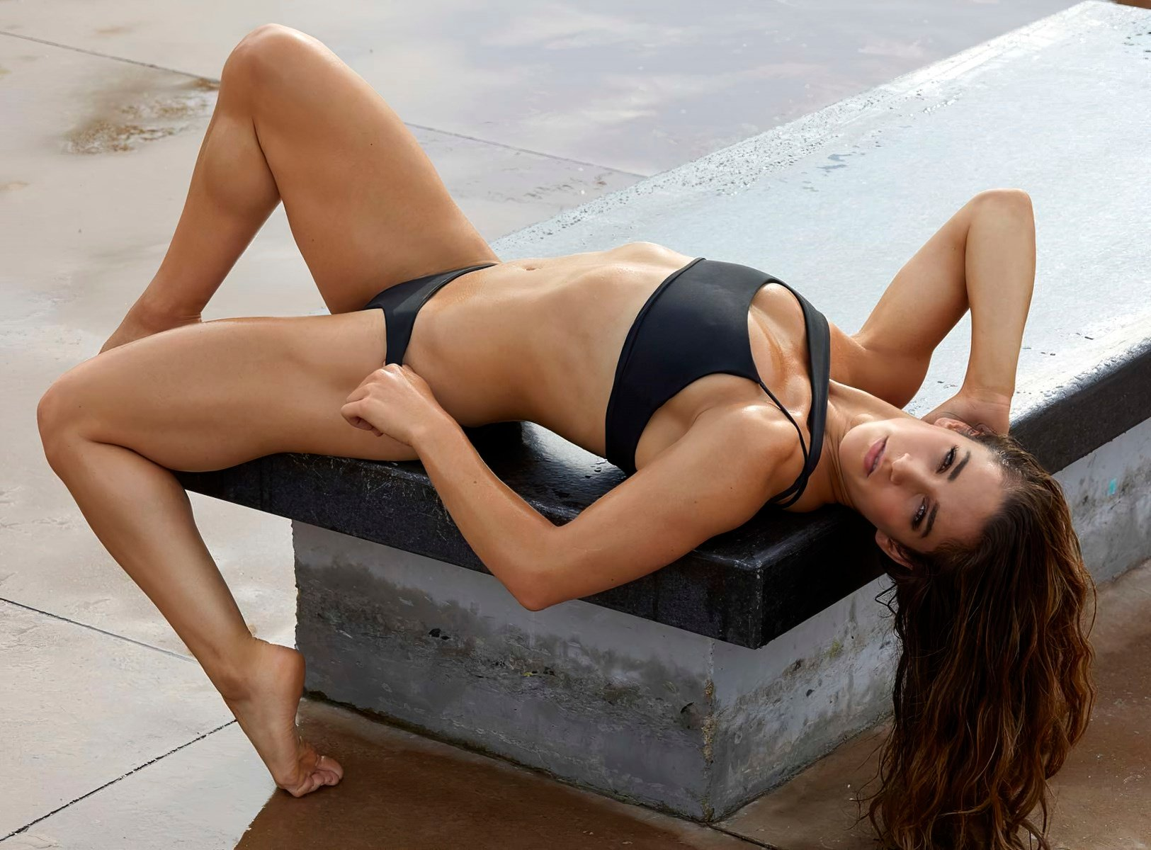 Aly Raisman - Beautiful Natural Body in Aeries Real Good