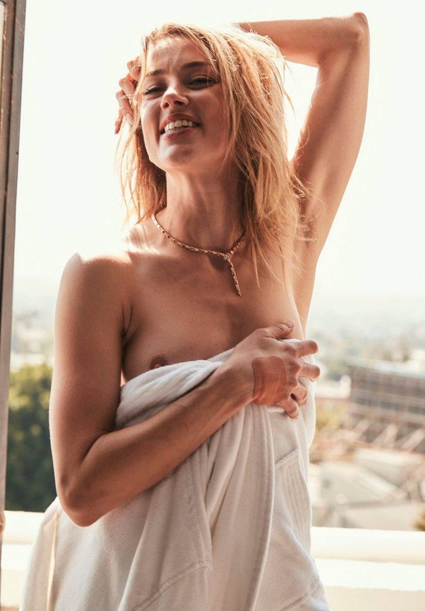 Amber Heard Topless Nude Outtakes Released