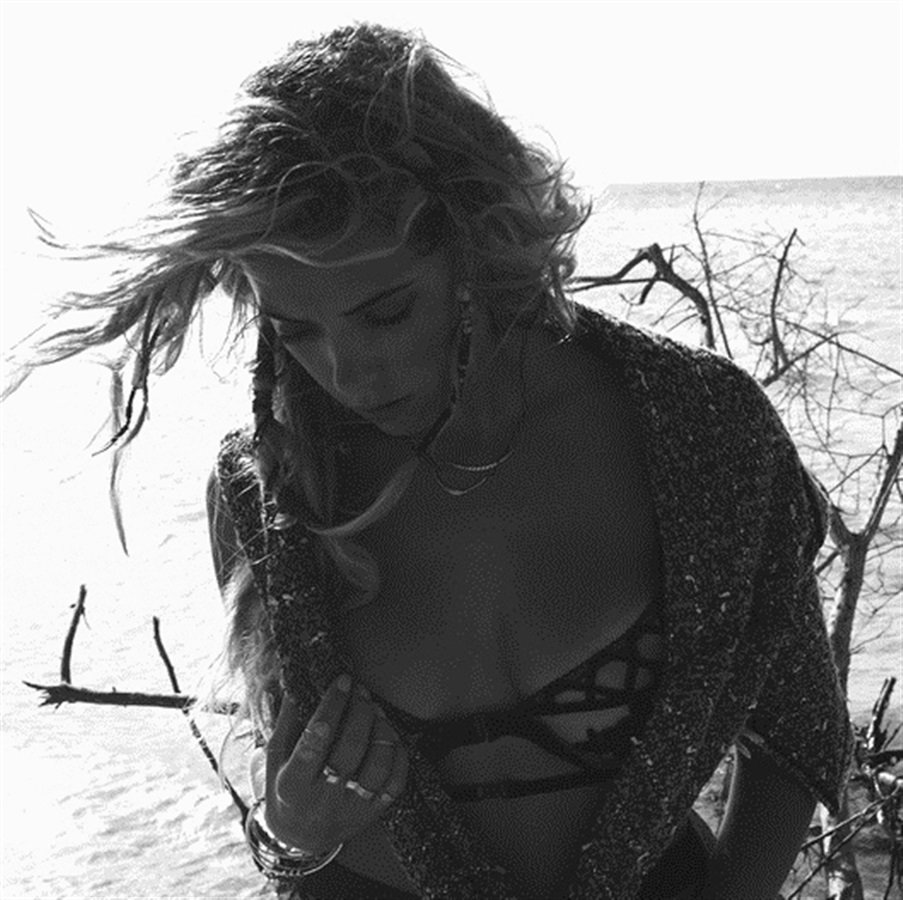 Ashley Benson Does A Topless Photo Shoot To Promote Tourism
