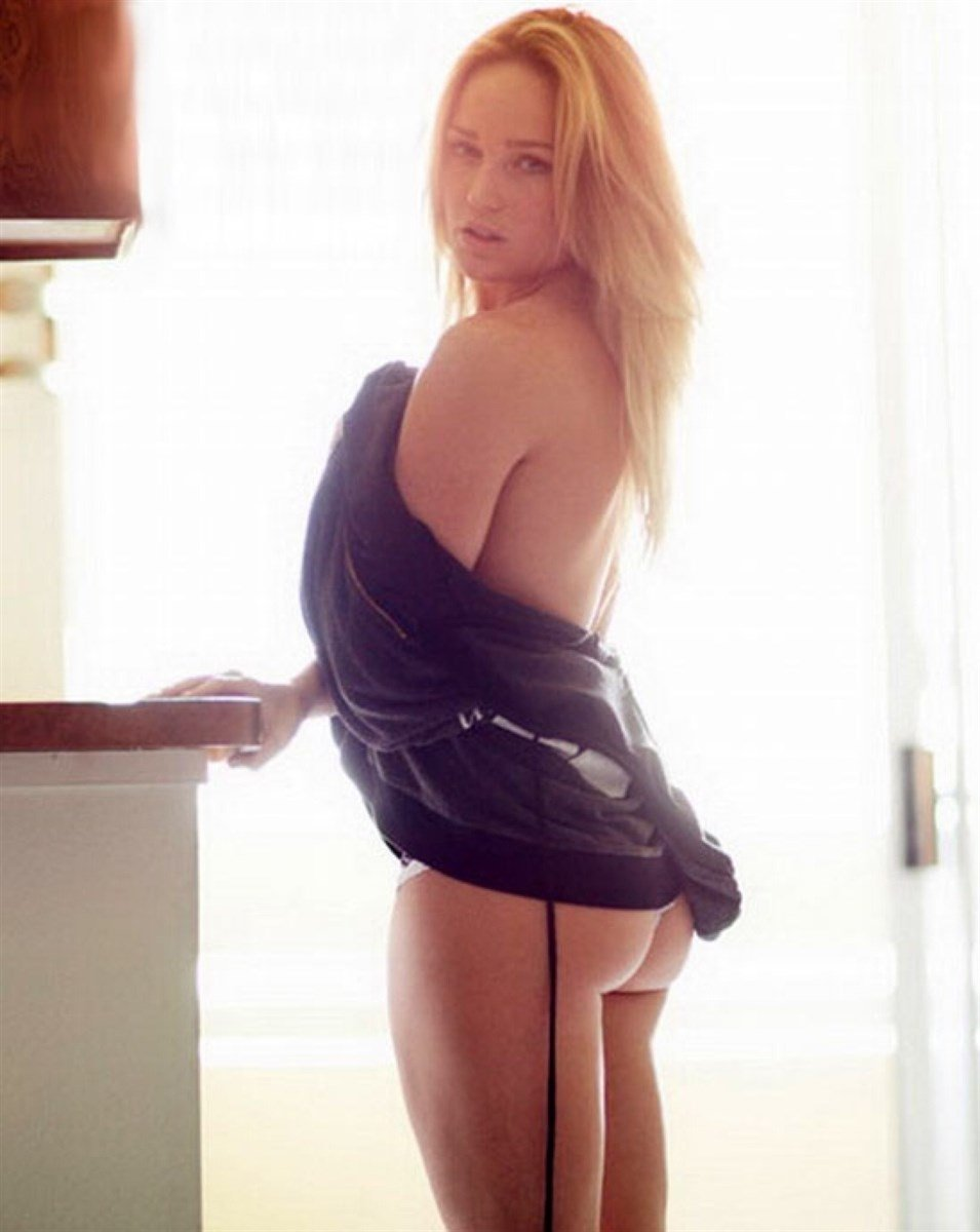 Caity Lotz Covered Nude Photo Shoot