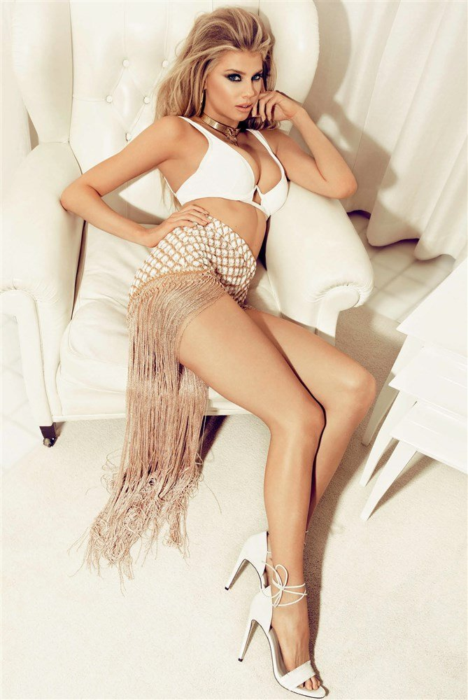 Charlotte McKinney Barely Covered Nude Photo Shoot