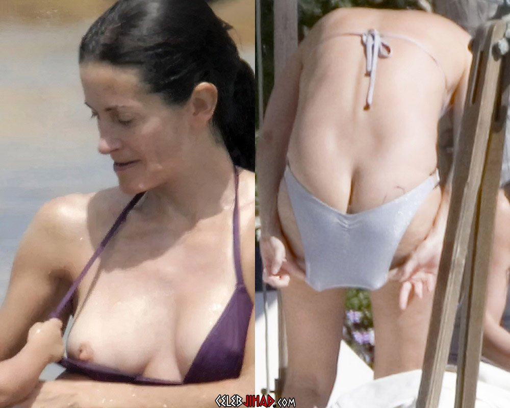 Courteney Cox Nude Tits And Ass Compilation