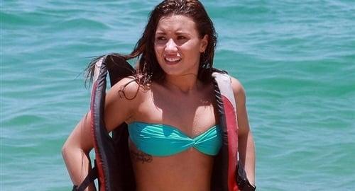 Demi Lovato Bikini Pictures Set A Bad Example