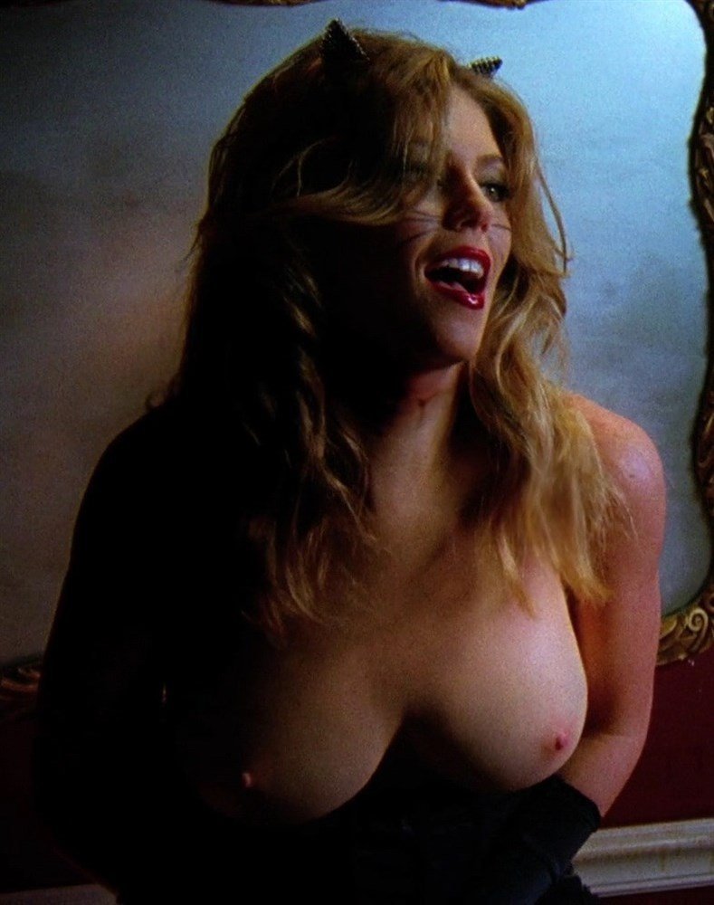 Diora Baird's Tits Come Out of Retirement For Topless Nude Dance