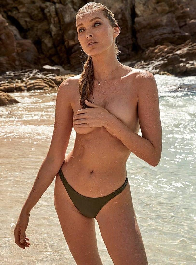 Elsa Hosk Topless Photo Shoot
