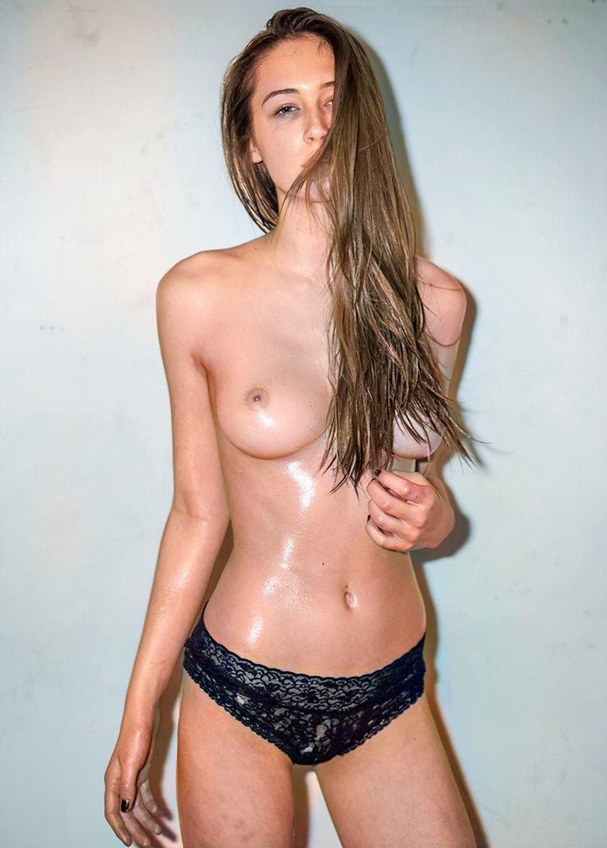 Elsie Hewitt Nude Photo Shoot Colorized