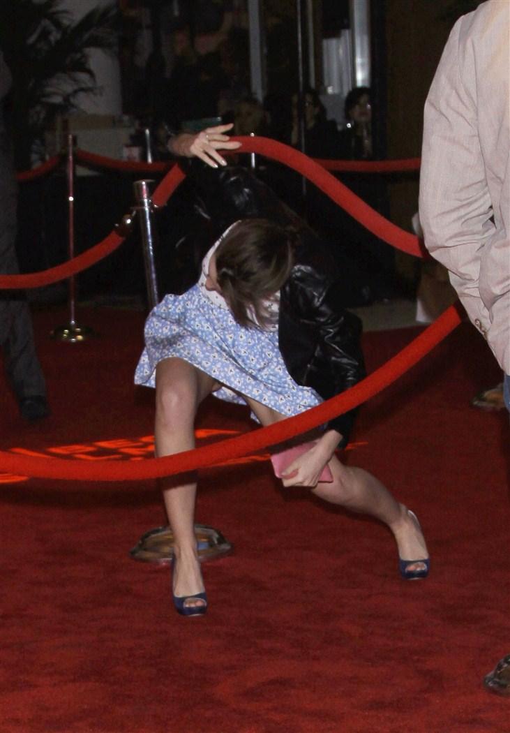 Emma Watson Leopard Panties Upskirt Pics