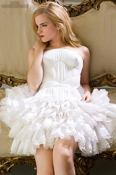 Emma Watson Posing For Russian Elle