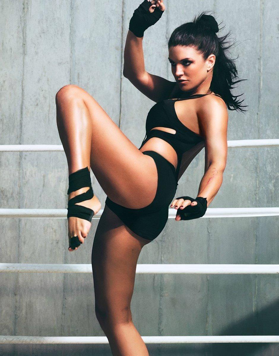 Gina Carano Nude And Sexy Photos Collection
