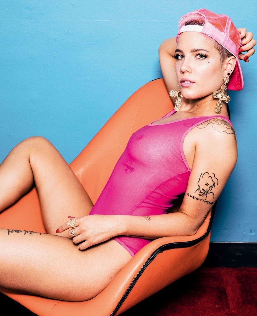 Halsey Nude Photo Shoot For Playboy