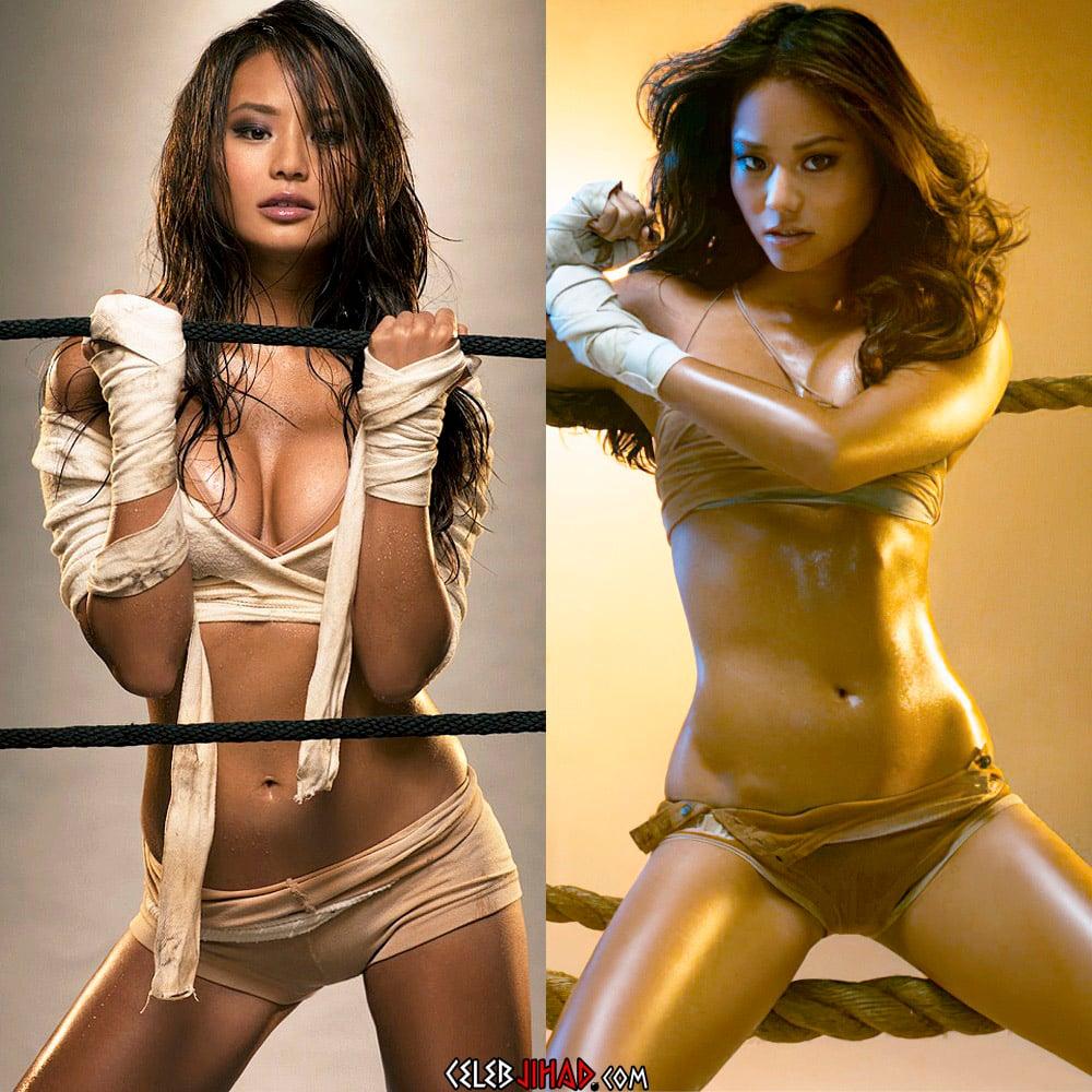 Jamie Chung Nude Scene And Nipple Pokies Enhanced