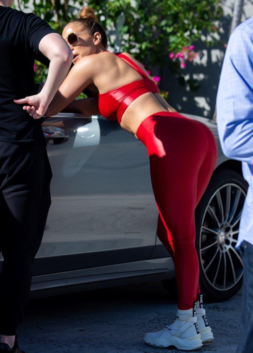 Jennifer Lopez Fat Christmas Camel Toe And Ass Crack