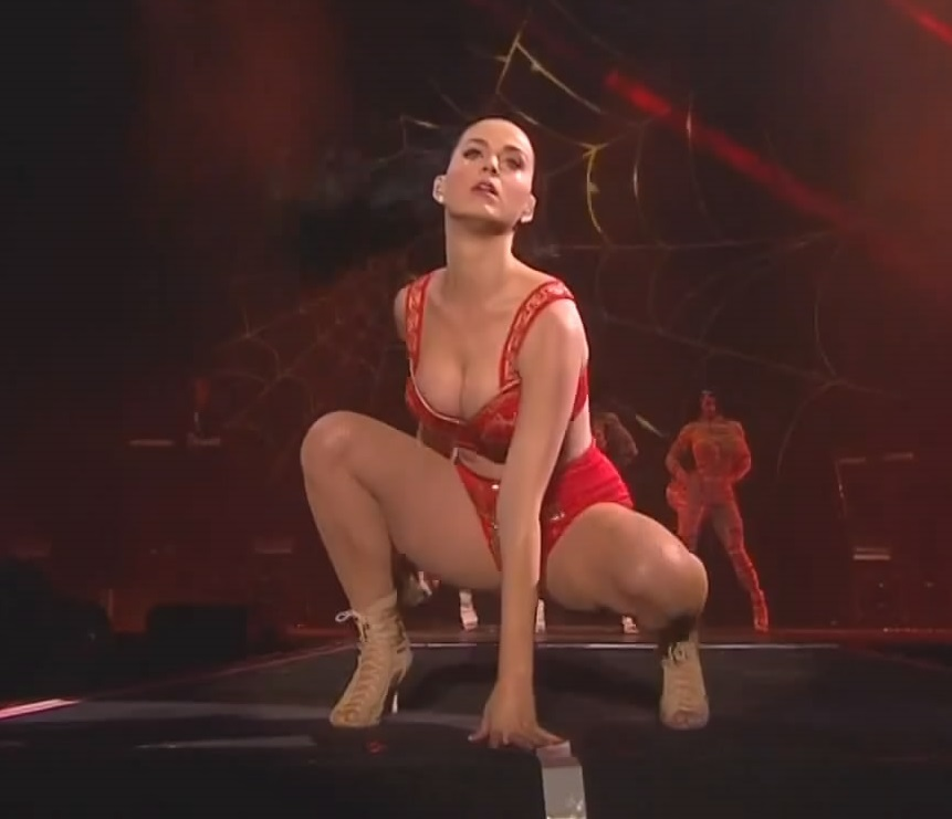 Katy Perry Mocks Christianity In Concert