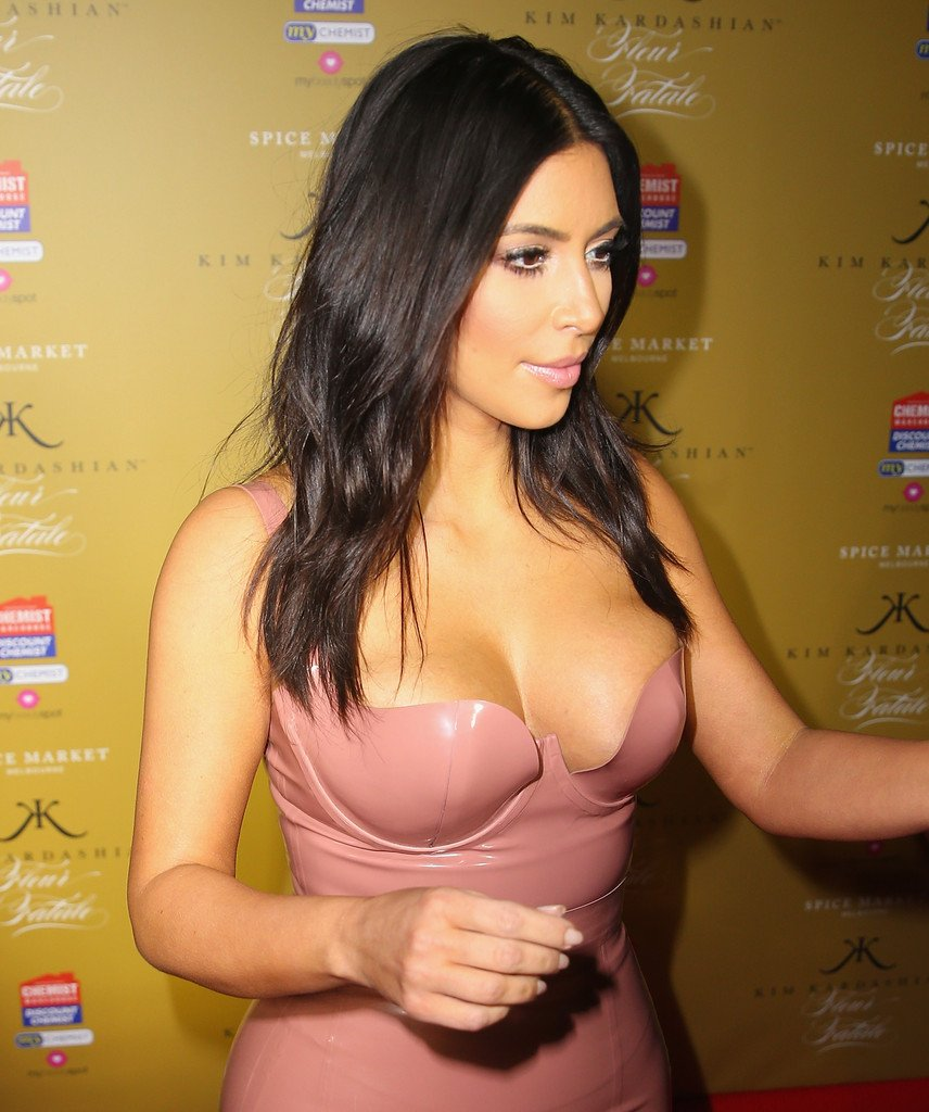 Kim Kardashian Wears A Latex Dress, Shares Her Dildo With Sister Kendall
