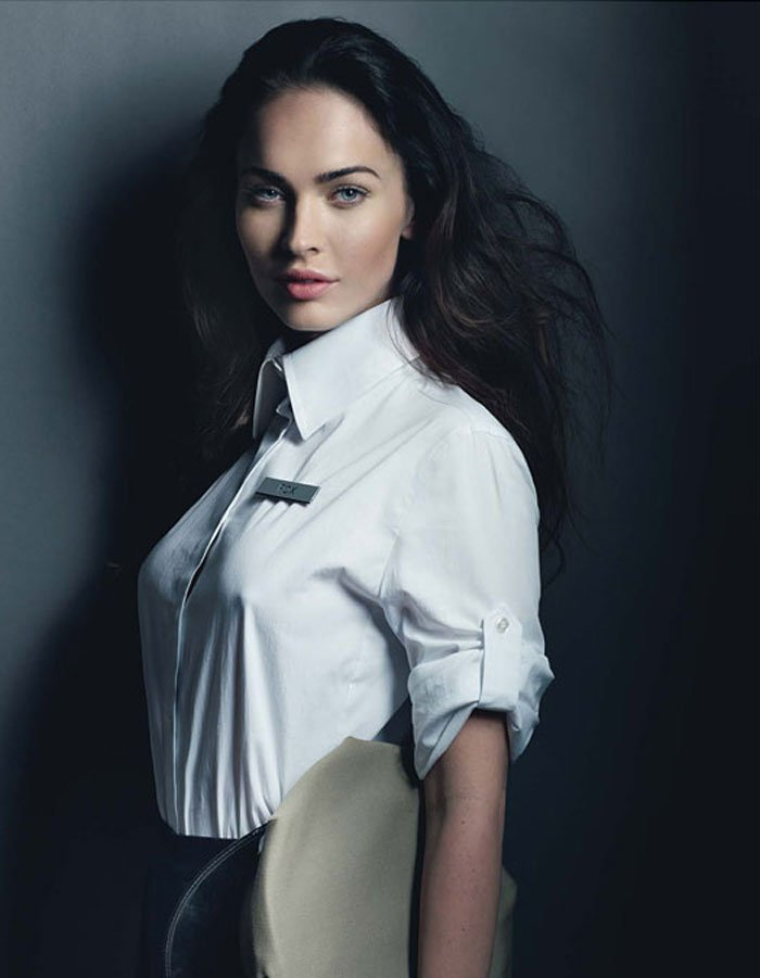 Megan Fox And Her Nipples In W Magazine