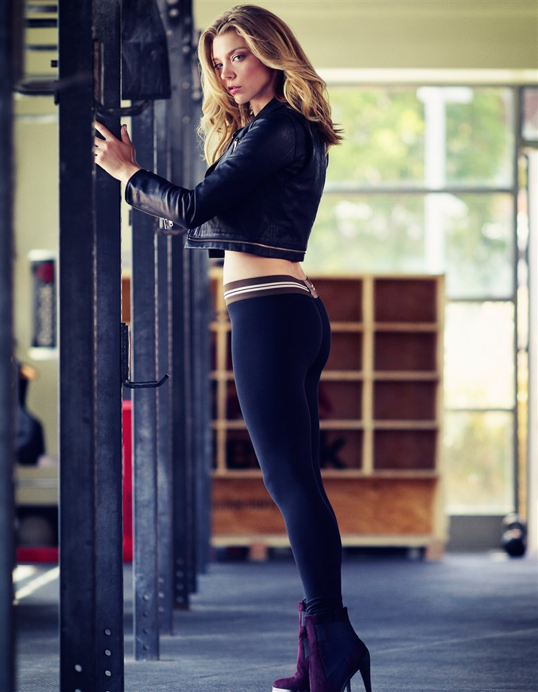 Natalie Dormer In Booty Shorts And Spandex For Women's Health