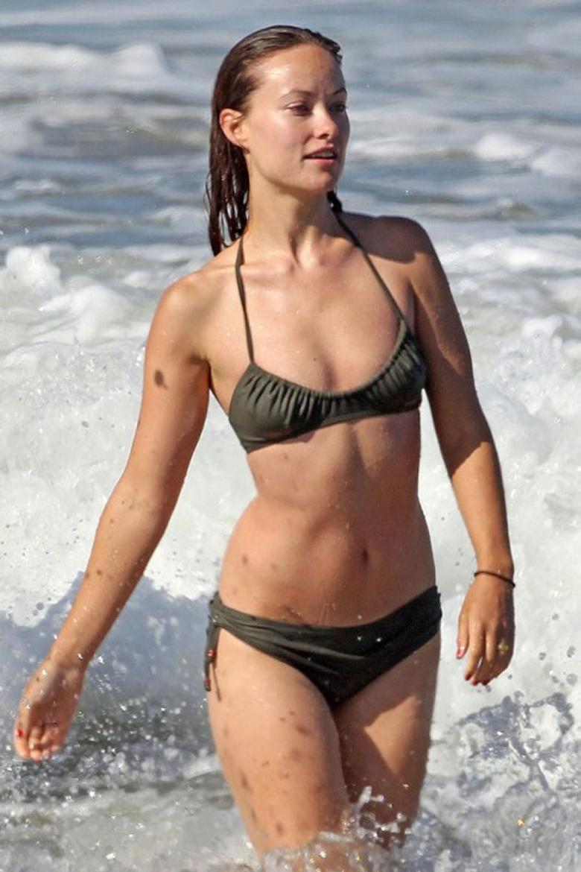 Olivia Wilde Wears Ill-Fitting Bikini