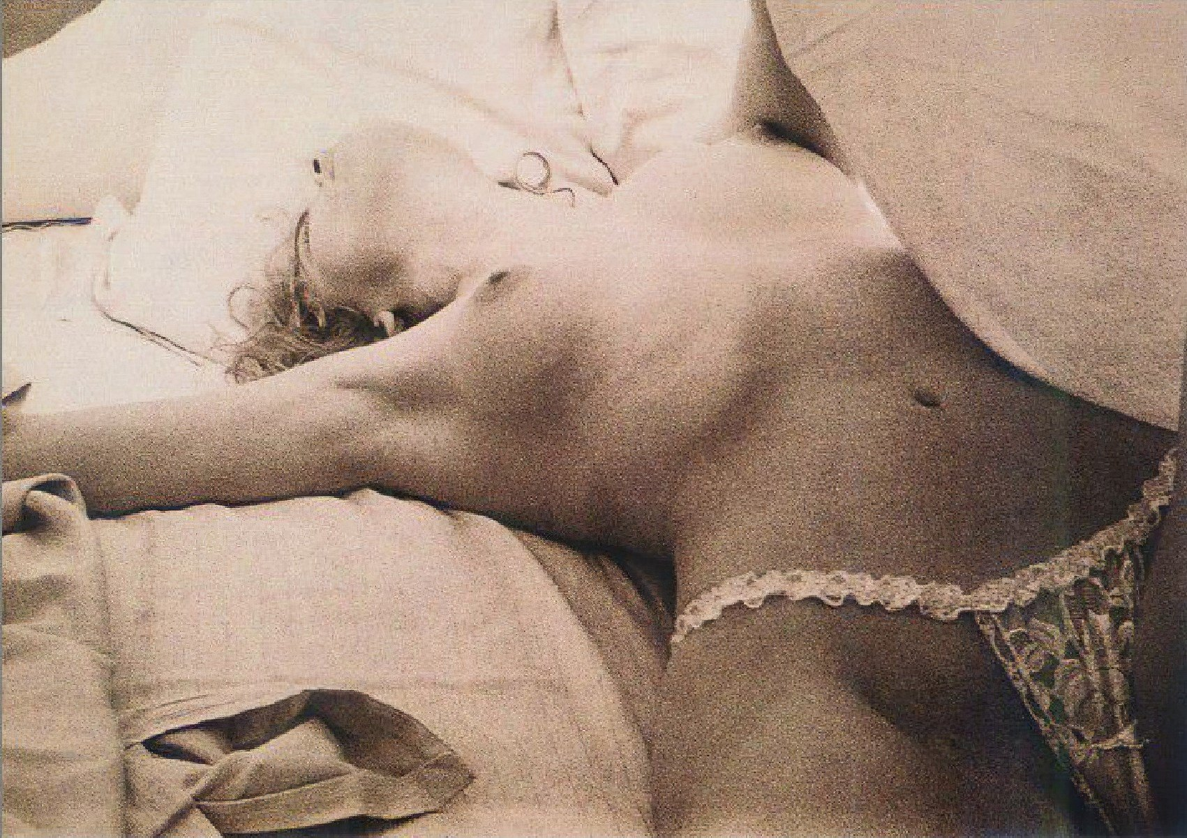 A Young Sharon Stone Nude