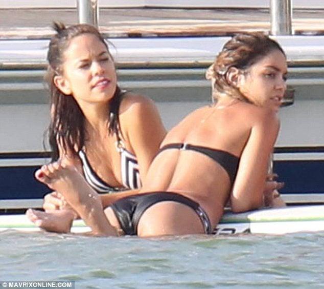 Vanessa Hudgens At Ashley Tisdale's Bikini Bachelorette Party